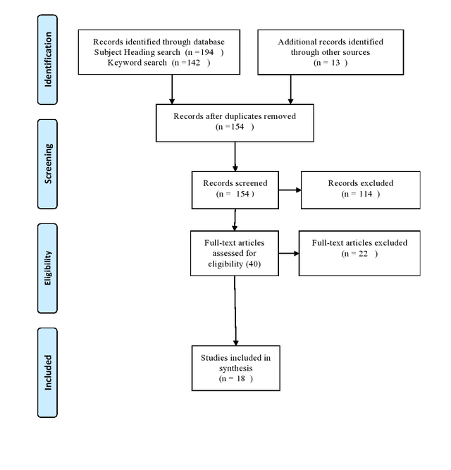 Flowchart of the Review Screening Process