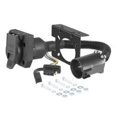 7 Way Trailer Plug Wiring Diagram Ford F150 2007 Kia Spectra Curt Manufacturing Custom Connector 55774