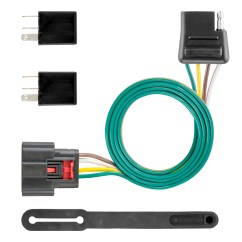 Gmc Savana Trailer Wiring Diagram For Jvc Car Radio Curt Manufacturing Custom Connector 56375