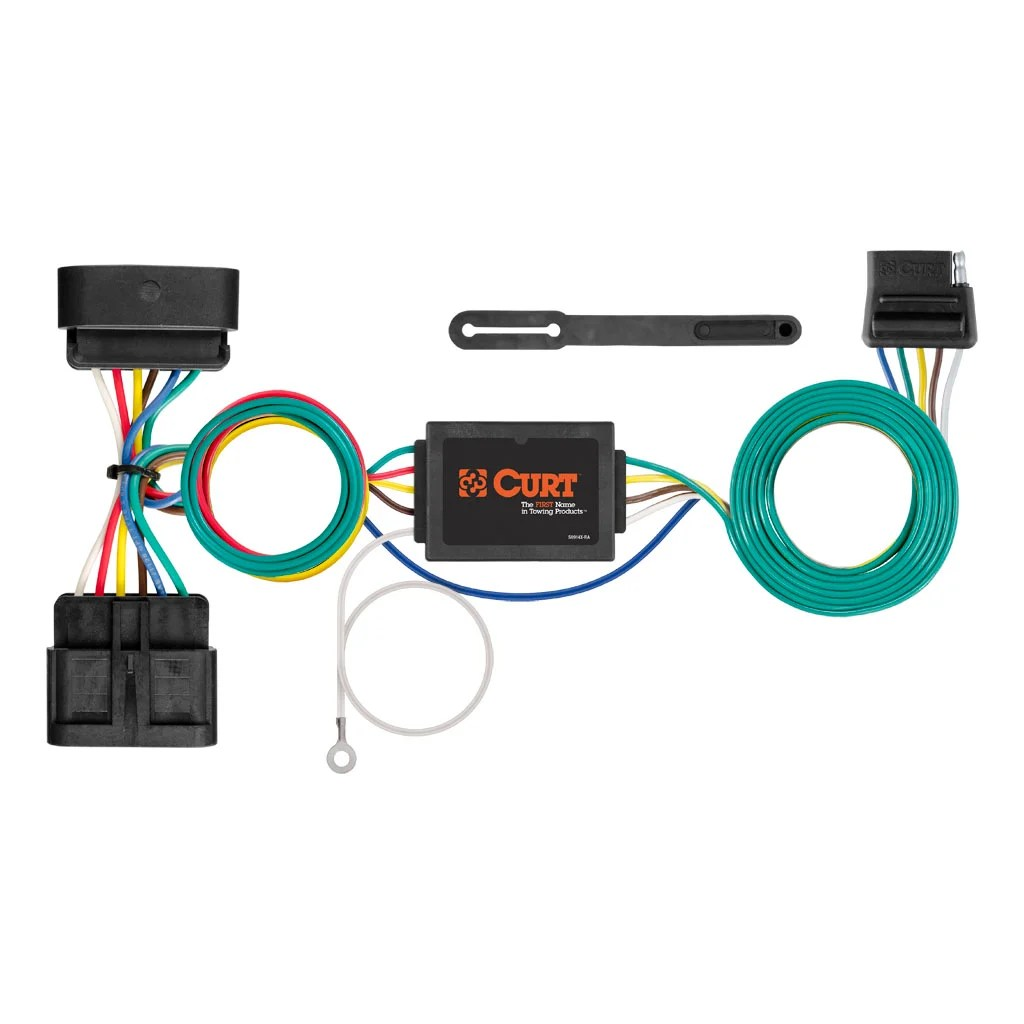 hight resolution of 2016 chevy colorado trailer wiring harness curt manufacturing curt custom wiring harness 56510rh