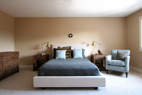 Completed Bedroom Design For Young Couple Design
