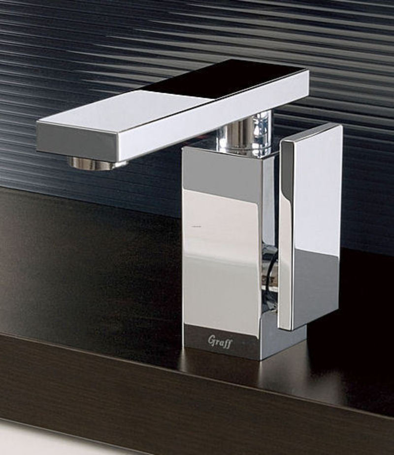 Ultra Modern Bathroom Faucet Inspired By Stealth Bomber  Stealth By Graff  design bookmark 2256