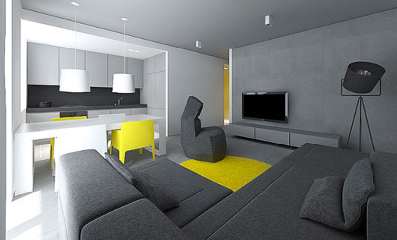 Modern Small Flat Interior Design By Tamizo Architects  Home Trends  design bookmark 5742