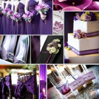 Wedding Decorations For A Purple Wedding / design bookmark ...