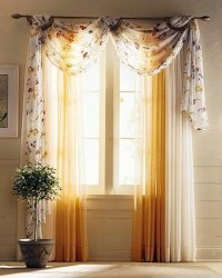 Drapery Curtain  Curtain Ideas For Living Room / design