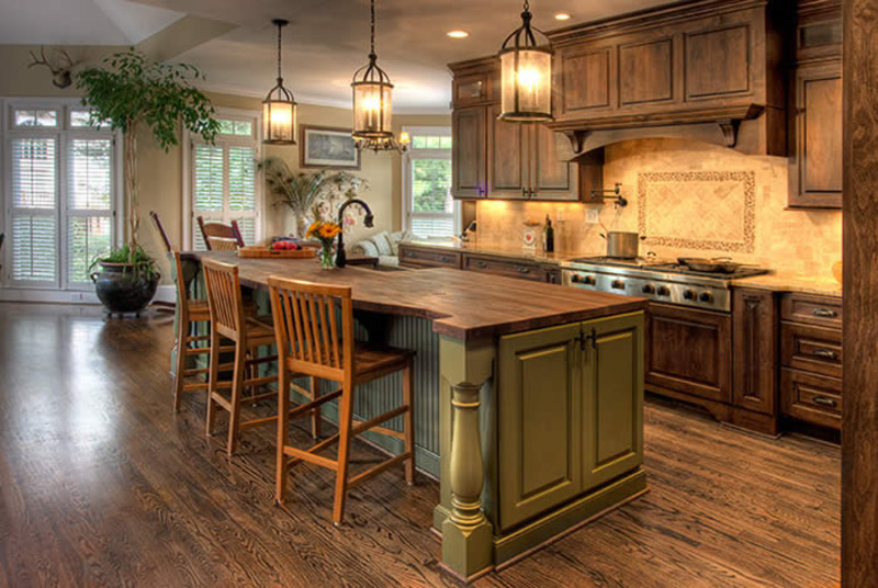 Country Homes Kitchens
