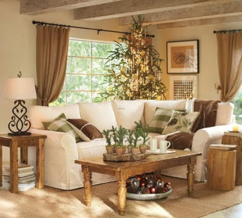 Small Place Style Pottery Barn Christmas 2009 Preview