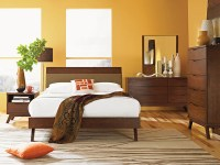 Asian Style Platform Bed, Bedroom Furniture, Bedroom Sets