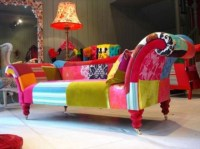 Chaise Lounge Chairs Indoors Modern Furniture Colorful ...