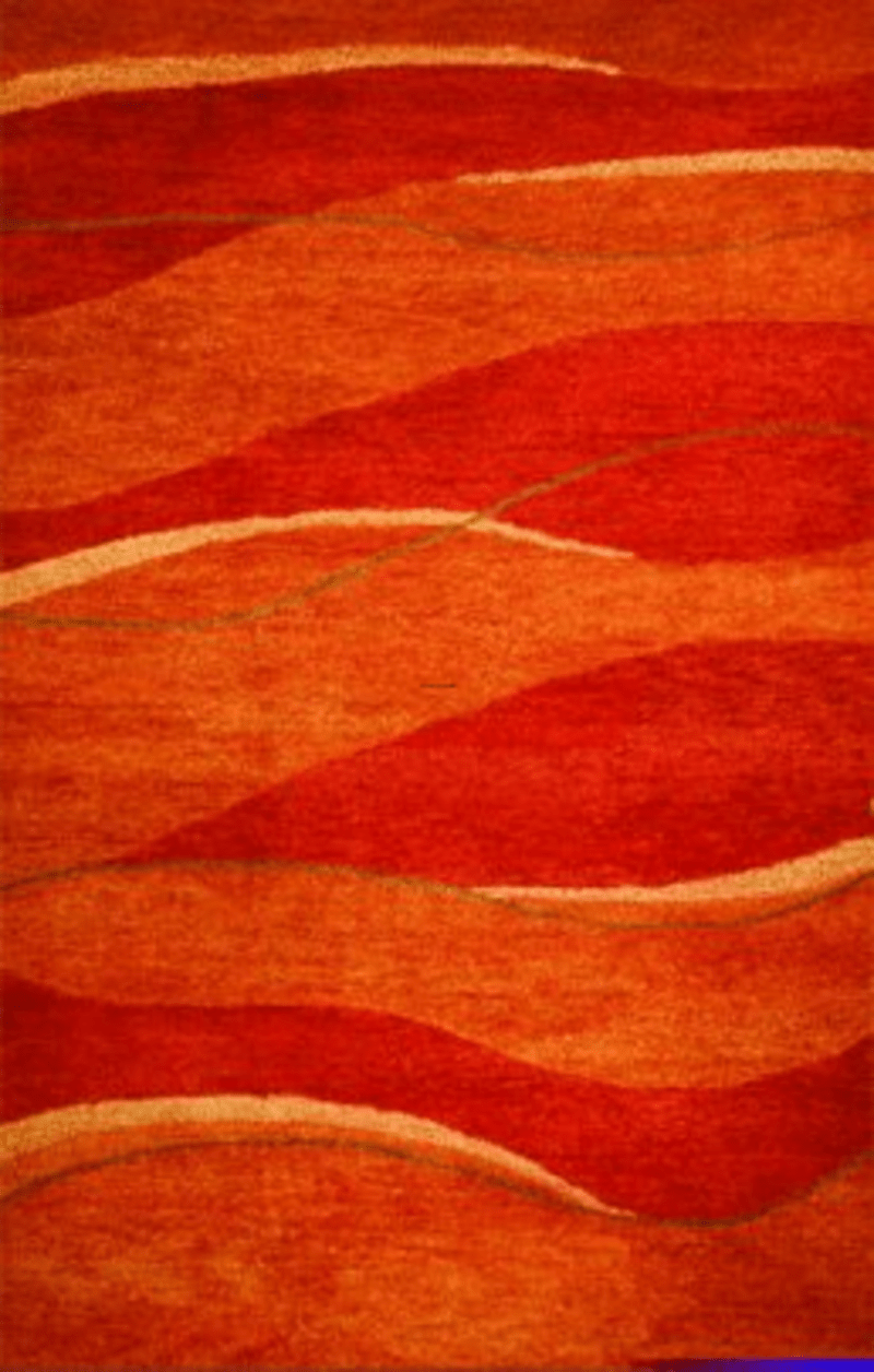 Orange Bath Rugs  design bookmark 10663