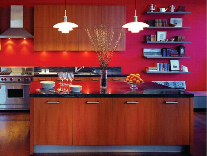 Red Kitchen Decorating Ideas Modern Interior Design