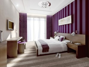 bedroom combinations combination colour colors paint painting bedrooms wall purple designs idea relaxing