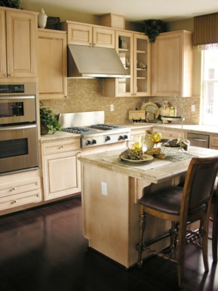 small kitchen with island design ideas Modern Small Kitchen Island Inspiration / Sample Designs