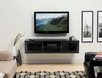 Euro Style Flat Panel Tv Install With Wall Mounted Cabinet ...