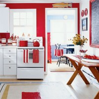 Red Kitchen Decorating Ideas | Home Interior Design Ideas