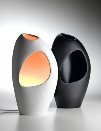 Contemporary Lighting With Ceramic Table Lamps / design