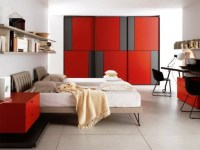 Awesome Impressive Red And Black TeenS Room / design ...
