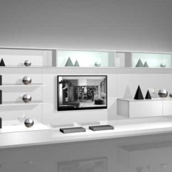 Tv Wall Mount Designs For Small Living Room Side Chairs Uk White Mounted Modern Cabinets Design 2 By Rimadesio