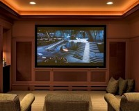 Media Room Ceiling Lighting Design, Pictures, Remodel