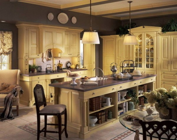 french country kitchen decor Elegant French Country Kitchen Decorating Ideas Kitchen