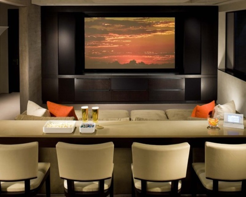 Home Furniture Decoration: Media Rooms Decorating Ideas