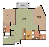 2 Bedroom Apartment Floor Plans Archives / design bookmark ...
