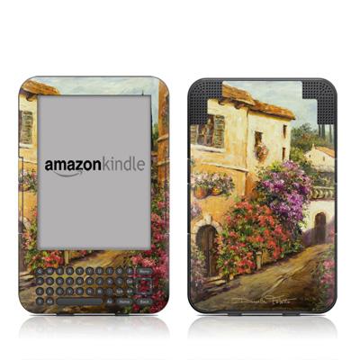 Kindle 3 Skin - Via Del Fiori