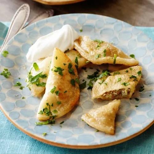 Green Garlic Pierogi