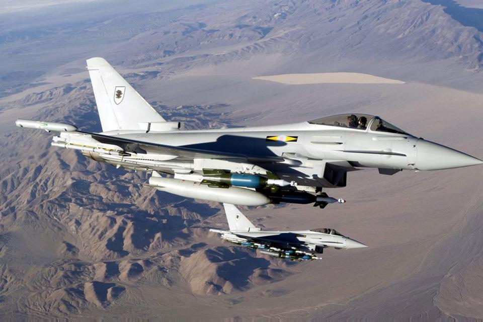 RAF Typhoon, Crown Copyright