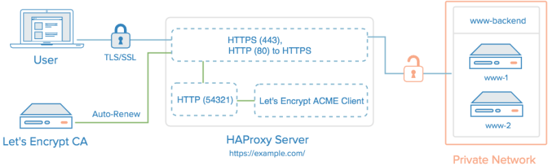 HAProxy with Let's Encrypt TLS/SSL Certificate and Auto-renewal