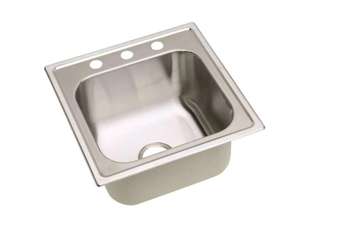 Elkay Gourmet Drop In Steel Kitchen Sink Dpc With