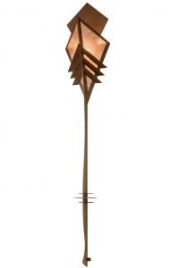 "Meyda Lighting Zaira Rusty Nail & Silver Mica 16"" Wide ..."