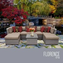 Tk Classics Florence-07a-wheat Florence 7 Piece Outdoor