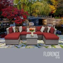 Tk Classics Florence-07a-terracotta Florence 7 Piece