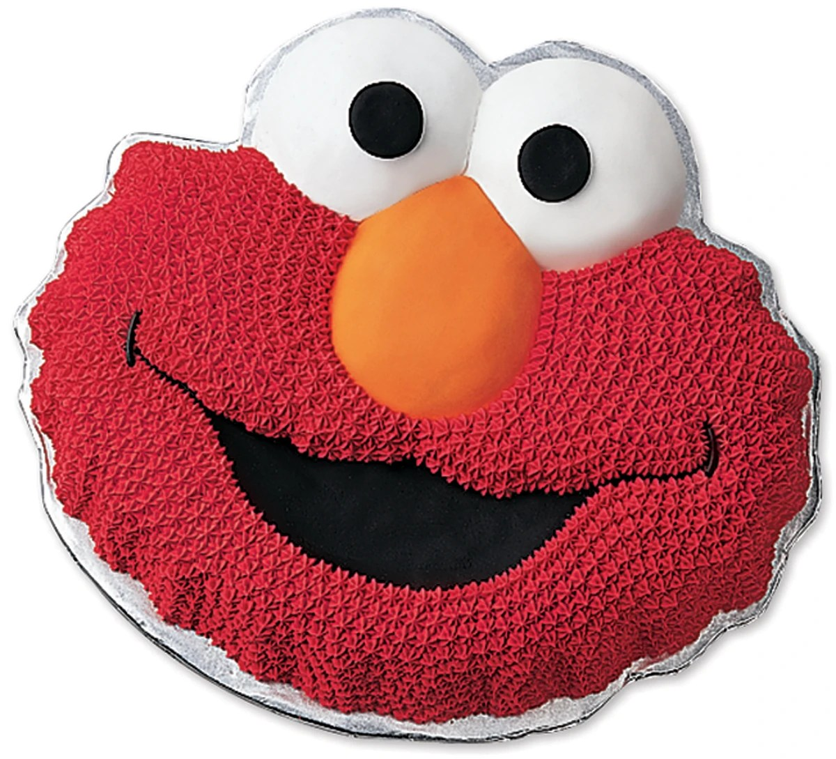 Wilton Novelty Cake Pan Elmo 13 5 X10 5 X2 Contains