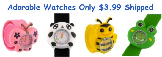 Adorable 3D Animal Watches for...