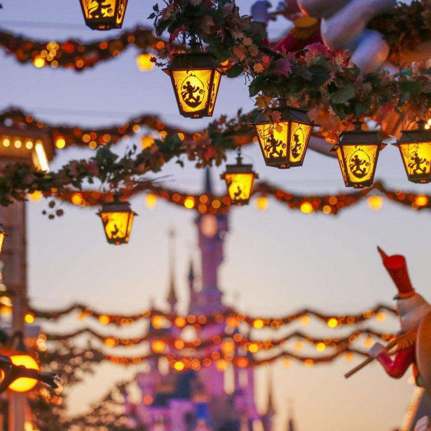 Les décorations du Festival Halloween Disney à Disneyland Paris