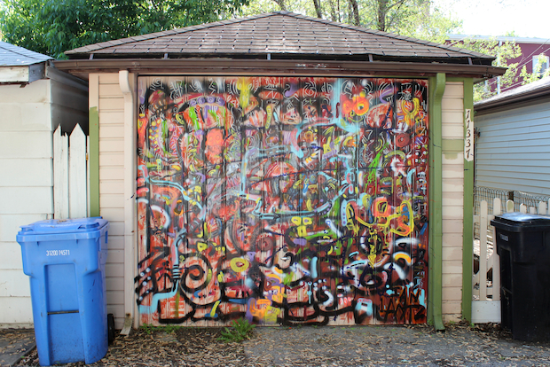 Bedazzle Your Garage Artist Turns South Side Alleys Into Galleries Pullman Chicago Dnainfo