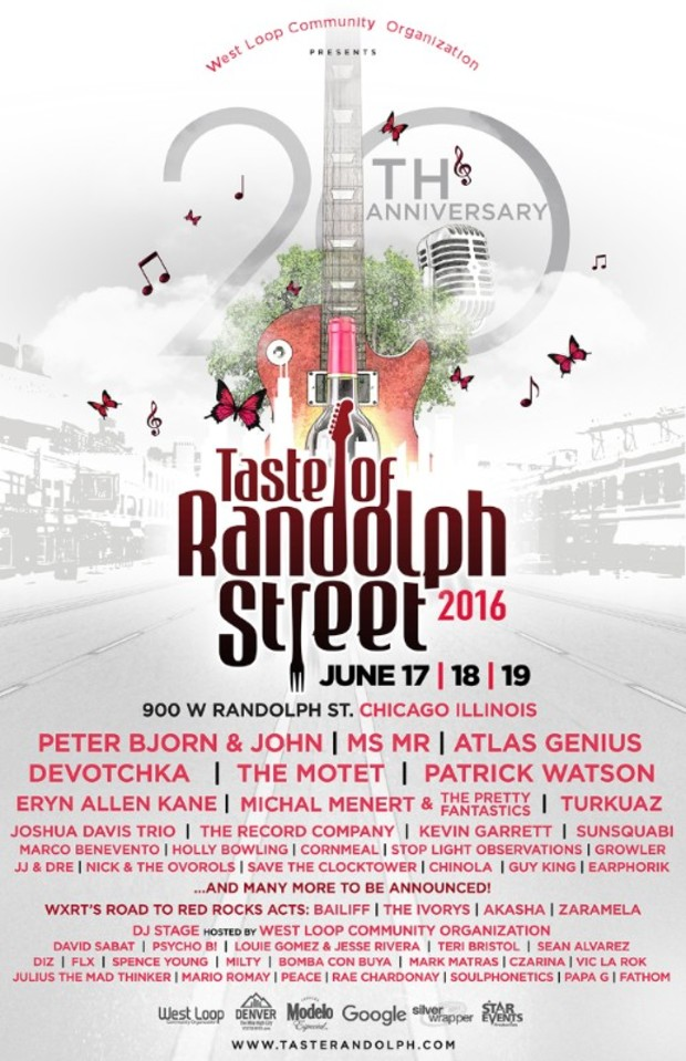 Taste of Randolph Lineup Revealed And Its Big On Denver