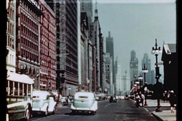 Vintage Chicago Film Found at Estate Sale Shows 1940sera