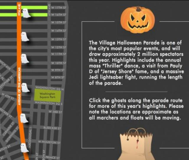 Interactive Village Halloween Parade Route Offers Thrills And Chills Greenwich Village Soho New York Dnainfo