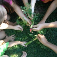 Kids yoga + Gardening + Capoeira = Too Cool 4 Preschool