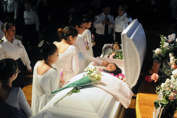 Funeral Services Held for Mom and Daughters Who Were
