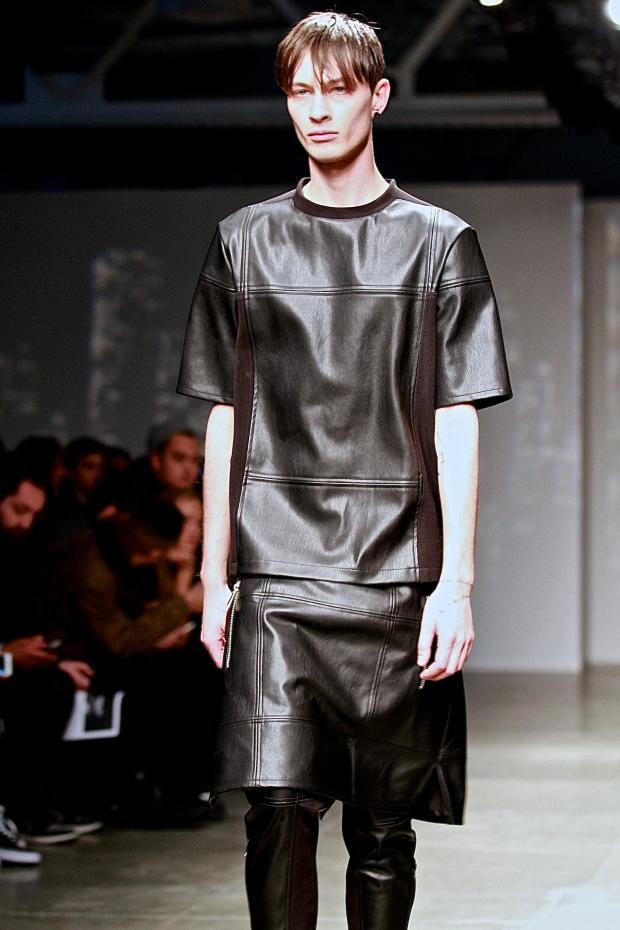 Masculine Skirts and Dresses Featured in UberHip Mens Fall Line  Upper West Side  Local