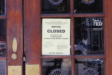Peter McManus Cafe Shut Down By Health Dept For Second