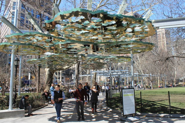 Madison Square Park Sculptures Will Block Sunlight and Trees Locals Say  Flatiron  DNAinfo