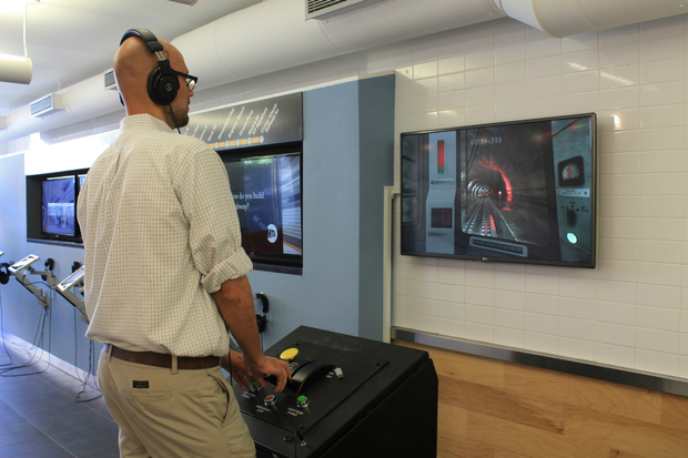 VIDEO MTA Simulator Lets You Drive the Second Avenue Subway  Upper East Side  DNAinfo New York