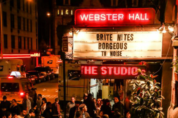 Webster Hall to Close for Renovations in August Operator