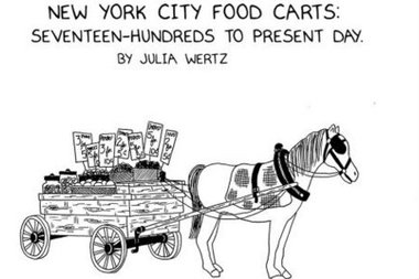 The New Yorker Charts Evolution of the Street Cart