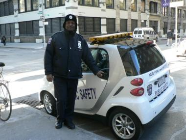 NYU Campus Security Ditches ThreeWheelers for Smart Cars  Greenwich Village  SoHo  New York